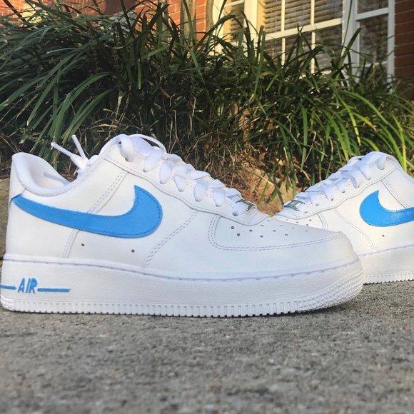 Custom Nike Air Force S Color Swoosh